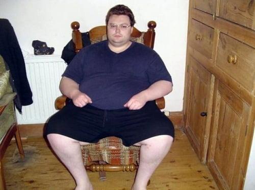 randevú egy túlsúlyos férfi
