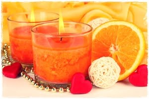 narancs-gyertya