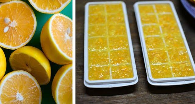 fagyasztott citromhéj a fogyáshoz