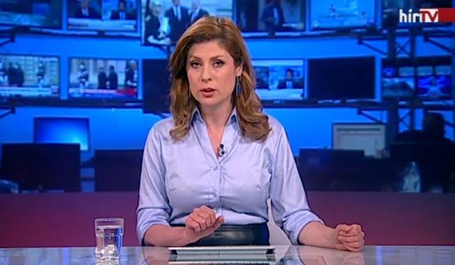 Élő adásban bukott hatalmasat a Hír TV egyik munkatársa!