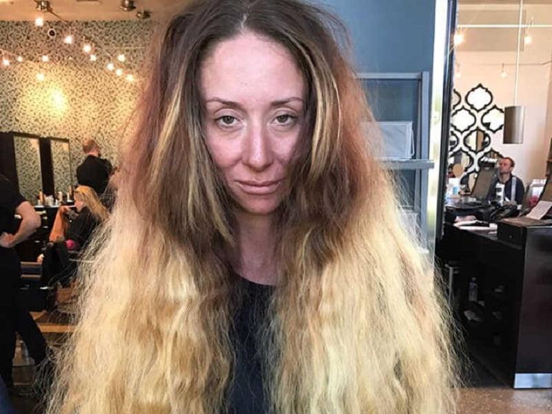 Apja nem engedte, hogy levágja hosszú haját. Amikor úgy döntött a saját sarkára áll, alig lehet ráismerni!