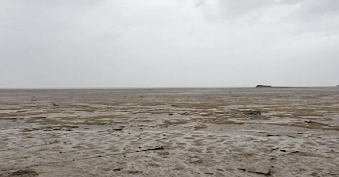 Igen ritka természeti jelenség: eltűnt az óceán, az Irma hurrikán beszívta