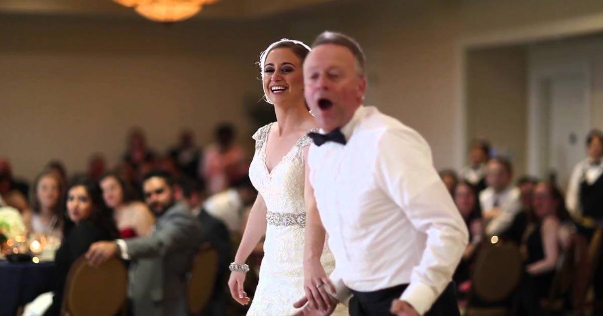 Az év legjobb apa-lánya táncot hozza ez a menyasszony és az örömapa