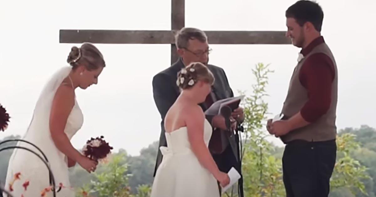 Ilyet nem látott a világ - A vőlegény menyasszonya lánytestvérének is megkérte a kezét!