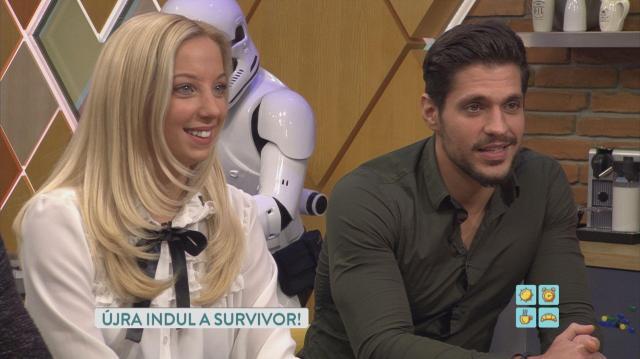 Fontos bejelentést tettek a Survivor sztárja ma reggel az RTL Klub reggeli adásában
