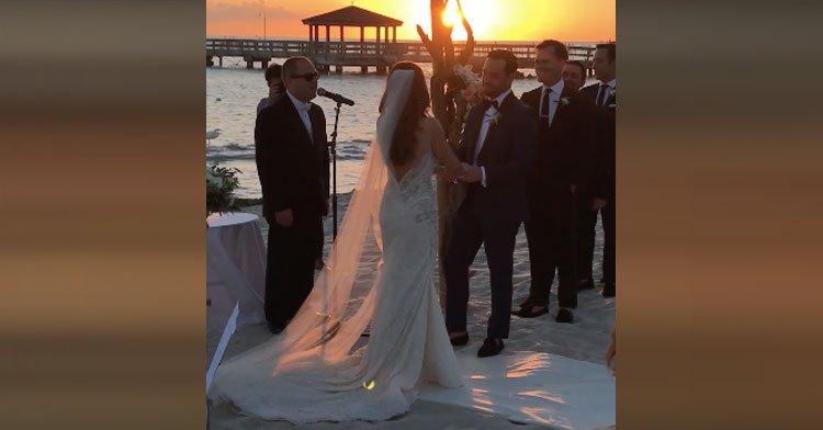 A menyasszony felkérte autista bátyját, hogy énekeljen az esküvőjén - A násznép könnyekig hatódott