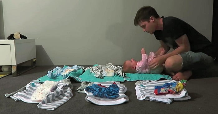 Egyenként kikészíti a gyerekek ruháit, aztán valami olyant tesz, ami téged is szavak nélkül hagy!