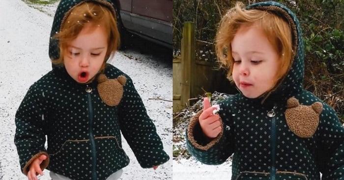 Csak idő kérdése, és mi is így fogunk örülni a havazásnak!