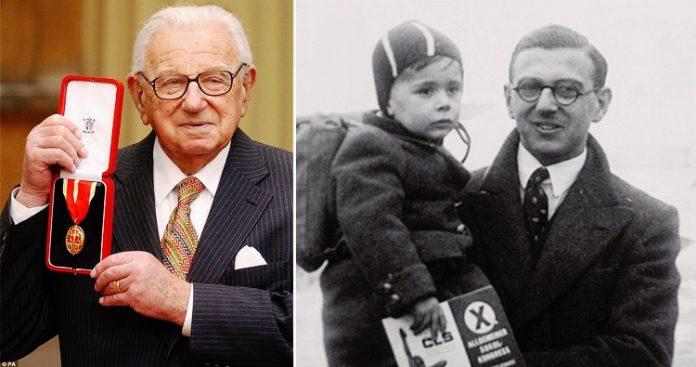Sir Nicholas Winton, a hős története, aki 669 zsidó gyermeket mentett meg a náciktól