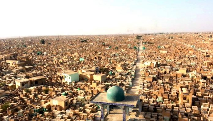 A Béke Völgye: ez a világ legnagyobb temetője, több mint 5 millió sír van benne