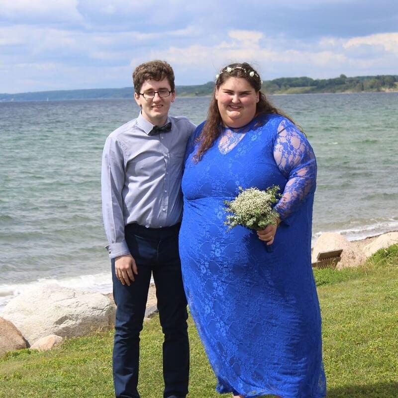 """A férje segített a túlsúlyos nőnek elfogadni a testét: """"Szeretett engem és a testemet"""""""