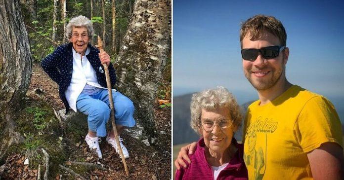 Soha nem látta az óceánt a nagymama, ezért unokája fogta és beutazta vele Amerikát