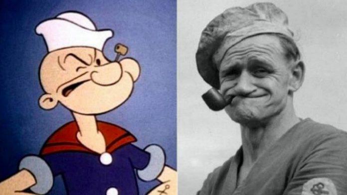 Popeye, a tengerész, valóban létezett, és a története sem mindennapi!
