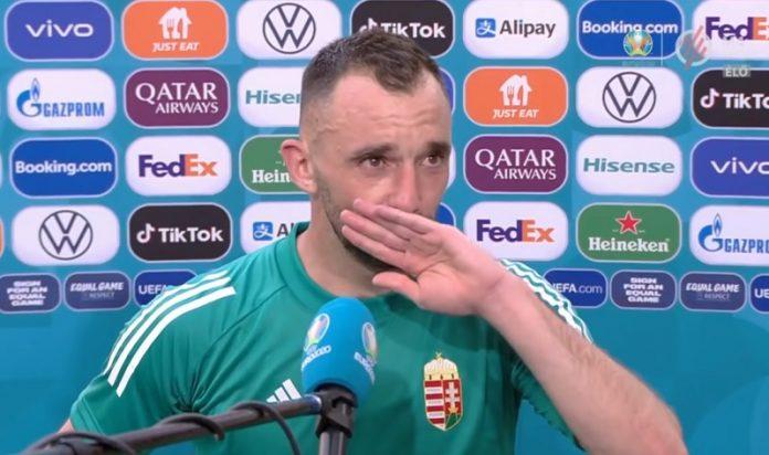 """Fiola Attila a könnyeivel küszködve nyilatkozott a franciák elleni meccs után: """"Életem egyik legszebb napja"""""""