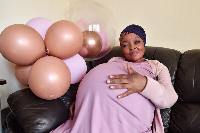 10 gyereknek adott életet egy dél-afrikai nő