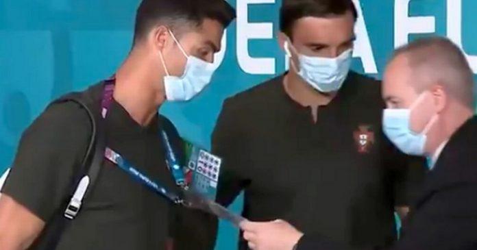 Cristiano Ronaldo-t alig akarta beengedni a biztonsági őr a magyar-portugál meccsre